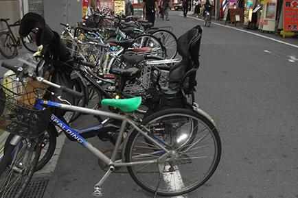 放置自転車撤去活動